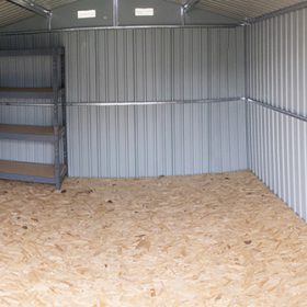 10 x 12 Panorama image of the interior from Sheds Direct Ireland