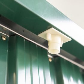 drain spout on the gutters