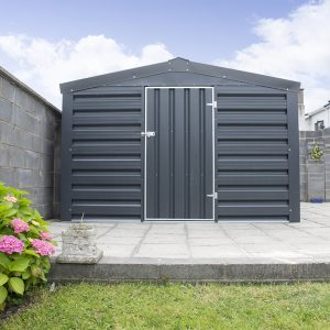 PVC Cladded shed from Sheds Direct Ireland