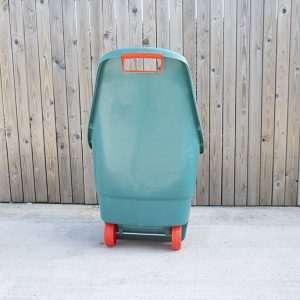 Easy Go Cart for gardening, available in teal-green with red-orange trim_3