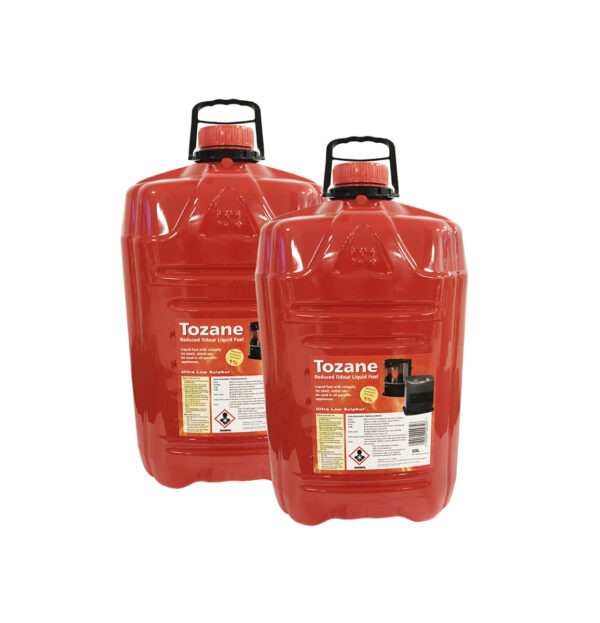 Paraffin Oil Tozane Fuel for Paraffin Heaters from Sheds Direct Ireland