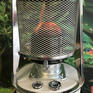 Camping Stove Heater with visible flame