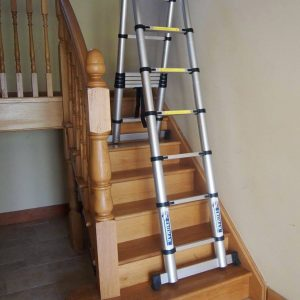 split level ladders