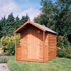 A Wooden Lodge from Sheds Direct Ireland
