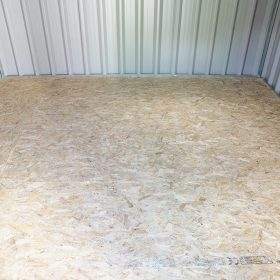 Wooden Floor for Cladded Shed