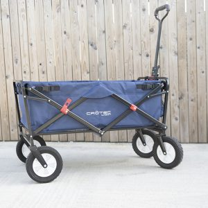 Crotec Folding Wagon rear view