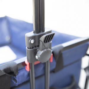 Crotec Folding Wagon handle mechanism