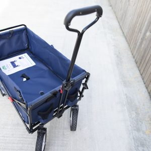 Crotec Folding Wagon from above
