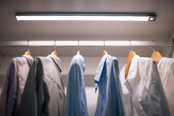 LED Light in a wardrobe