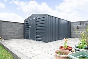 A heavy Duty, PVC Coated Shed in Dublin