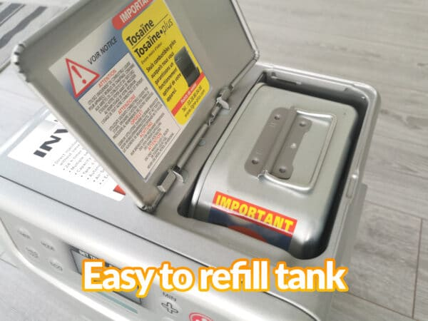 The tank in the minimax heater