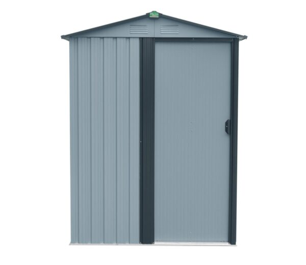 An external view of the tiny shed.