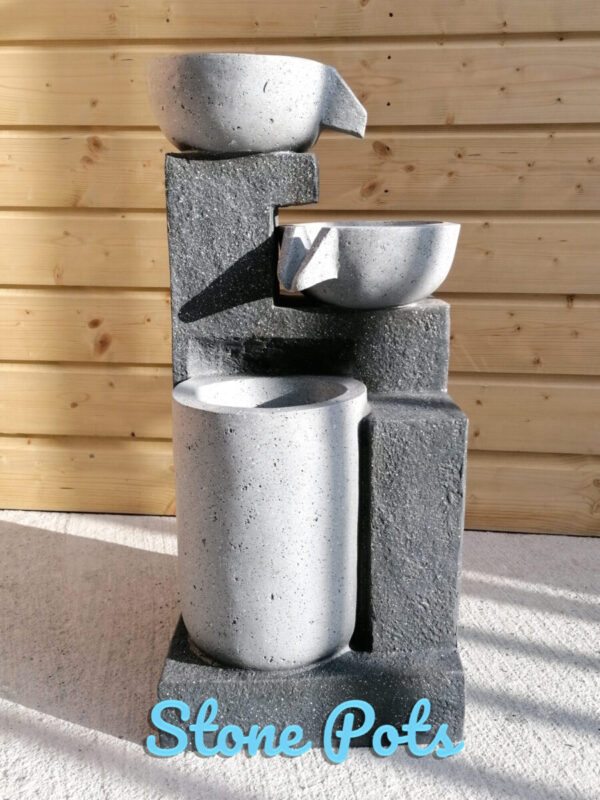 Stone Pots Water Feature