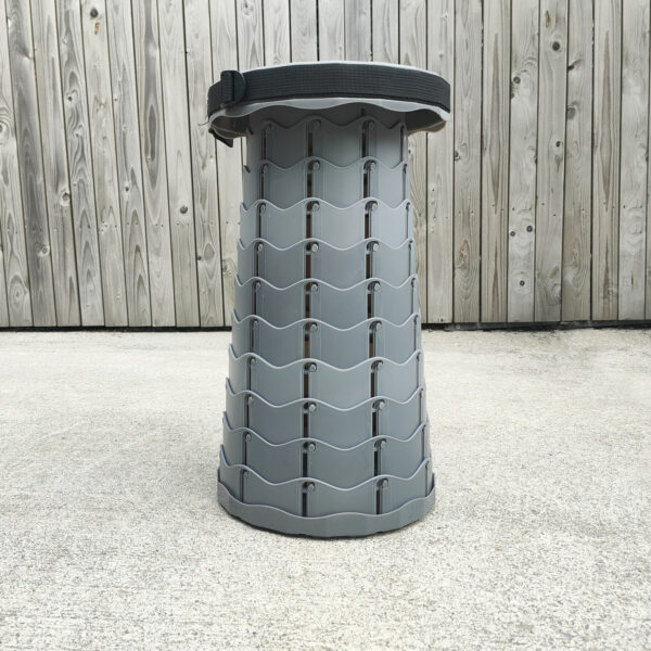 Grey Pop Up Stool from Sheds Direct Ireland