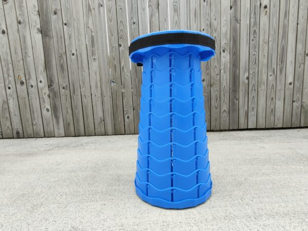 Blue Pop Up Stool