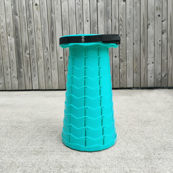 Mint Green Pop Up Stool from Sheds Direct Ireland