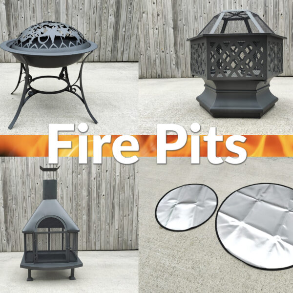 Fire Pits and Fire Mat