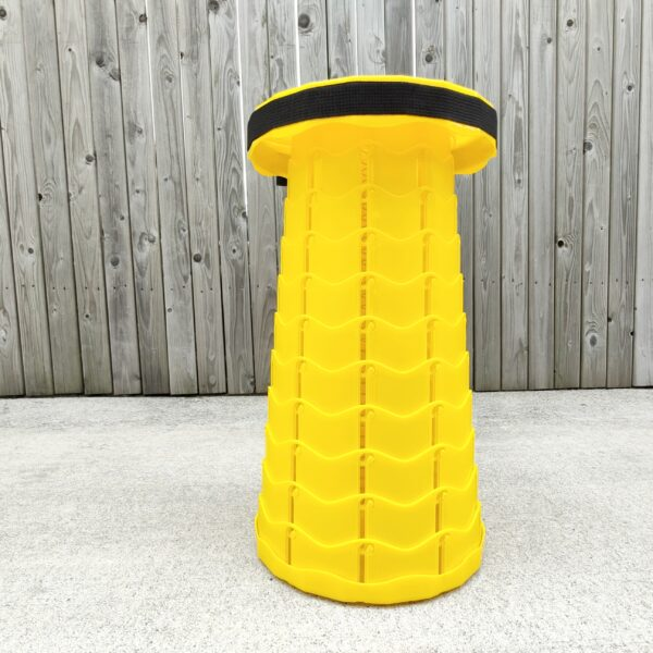 Yellow Pop Up Stool